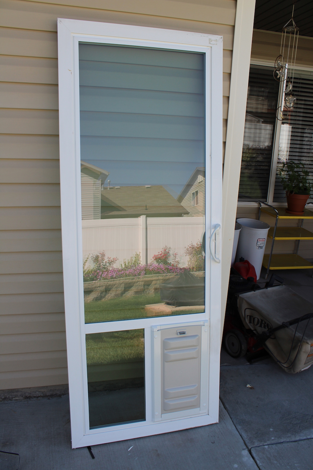 Sliding Gl Dog Door