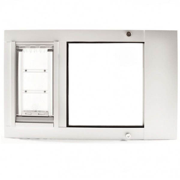 Abstract Of Flap Window - Window Pet Door At Pet Door Products